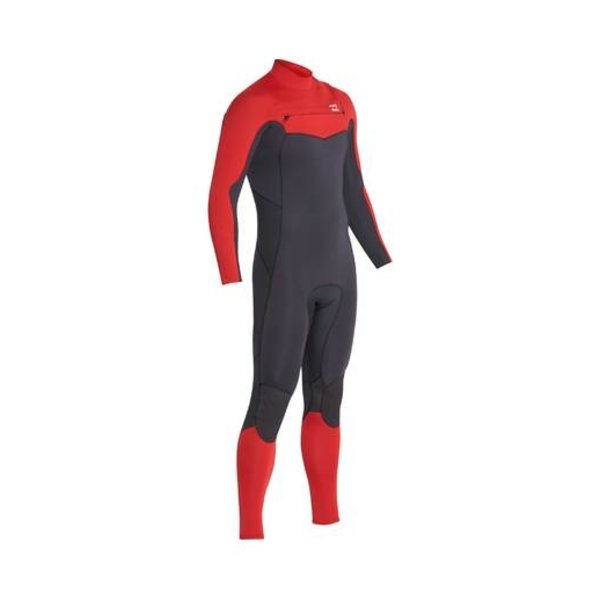 Billabong 3/2 Absolute Kinder Zomer Wetsuit Red