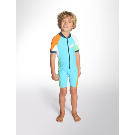 C-Skins C-Skins Baby Lycra Shorty Turquoise/Orange/Green