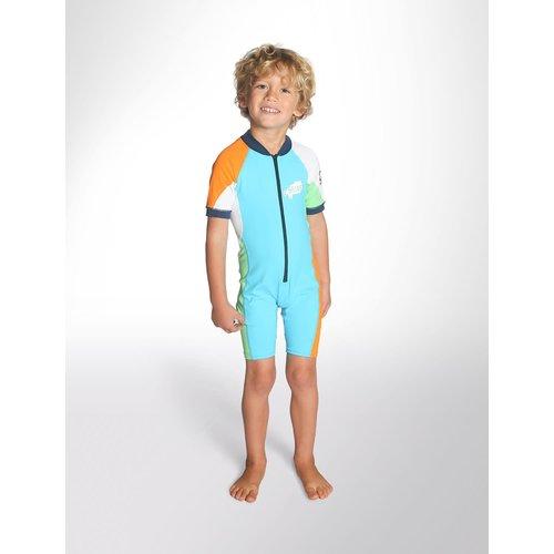 C-Skins C-Skins Baby Lycra Shorty Blue/Orange/Green