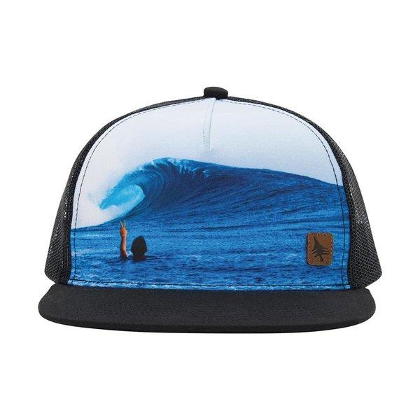 Hippy Tree Peace Hat Black
