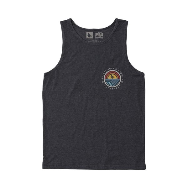 Hippy Tree Heren Community Tank Heather Charcoal