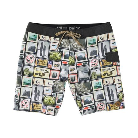 Hippy Tree Hippy Tree Heren College Trunk Boardshorts Natural