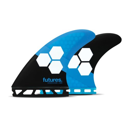 Futures Fins Futures AM1 Thruster Fins Honeycomb Blue