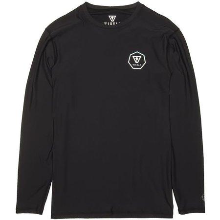 Vissla Vissla Men's Everyday Lycra Long Sleeve Black