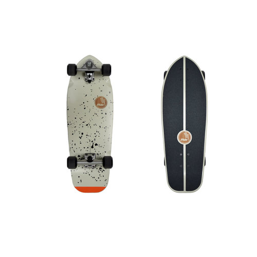 "Slide Surf Skateboards Slide Surf Joyful Splatter 30"" Skateboard"
