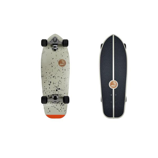 """Slide Surf Joyful Splatter 30"""" Skateboard"""