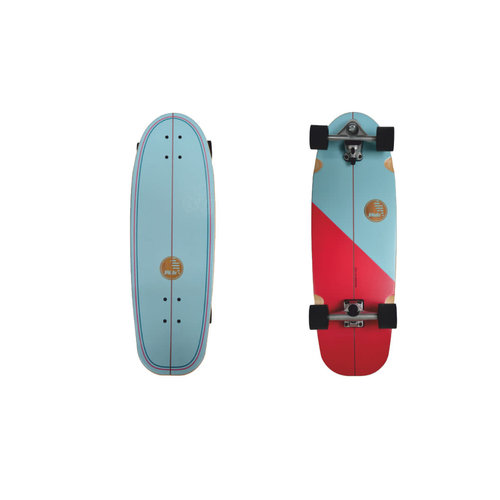 "Slide Surf Skateboards Slide Surf Gussie Amuitz 31"" Skateboard"