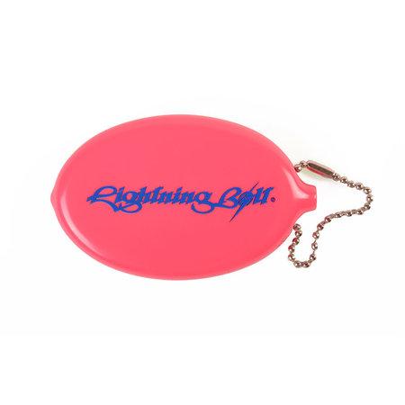 Lightning Bolt Lightning Bolt Classic Logo Quick Coin Sleutelhanger Pink