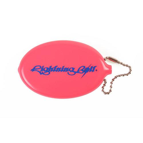 Lightning Bolt Lightning Bolt Classic Logo Quick Coin Pink