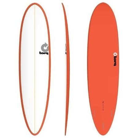 Torq Torq Funboard Red White Deck 7'6''