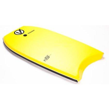 Vision Vision Fuse Bodyboard 45'' Yellow/Black