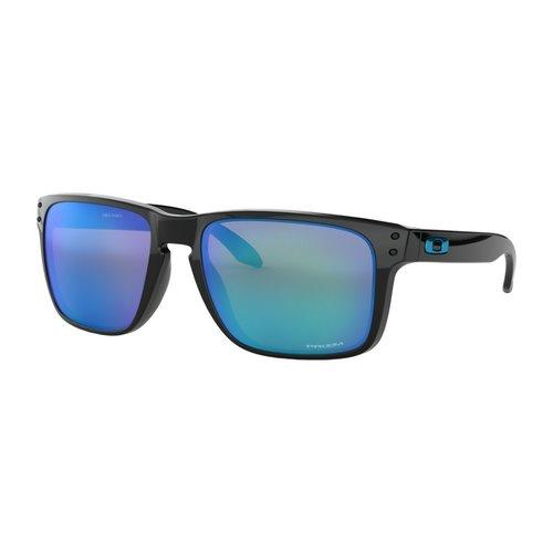 Oakley Oakley Holbrook Polished Black Prizm Sapphire Zonnebril