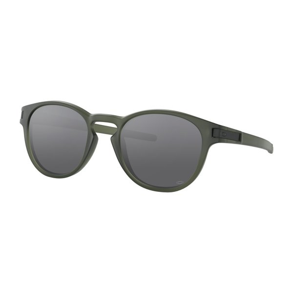 Oakley Latch Matte Olive Ink Emerald Iridium Zonnebril