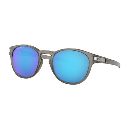Oakley Oakley Latch Matte Grey Prizm Sapphire Polarized Zonnebril