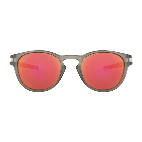 Oakley Latch Matte Grey Ink Ruby Iridium Zonnebril