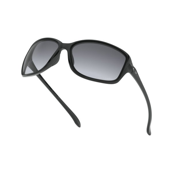 Oakley Cohort Polished Black Gradient Polarized Zonnebril