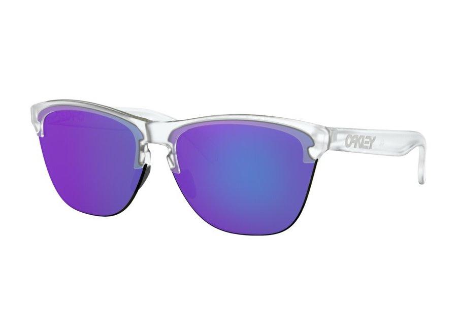 Oakley Frogskins Lite Matte Clear Violet Iridium Zonnebril