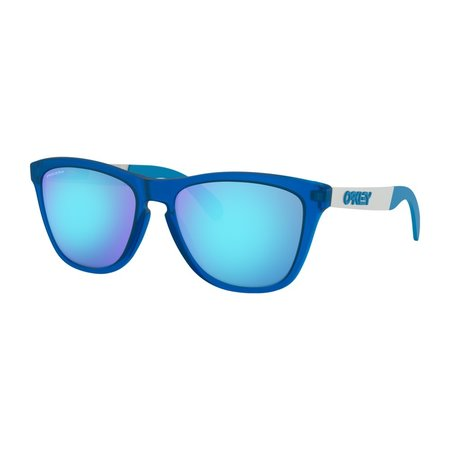 Oakley Oakley Frogskins Mix Matte Translucent Sapphire Prizm Sapphire Zonnebril