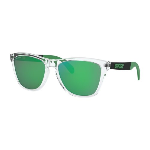 Oakley Oakley Frogskins Mix Polished Clear Prizm Jade Sunglasses