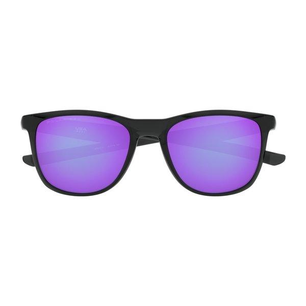 Oakley Trillbe X Black Ink Violet Iridium Polarized Zonnebril
