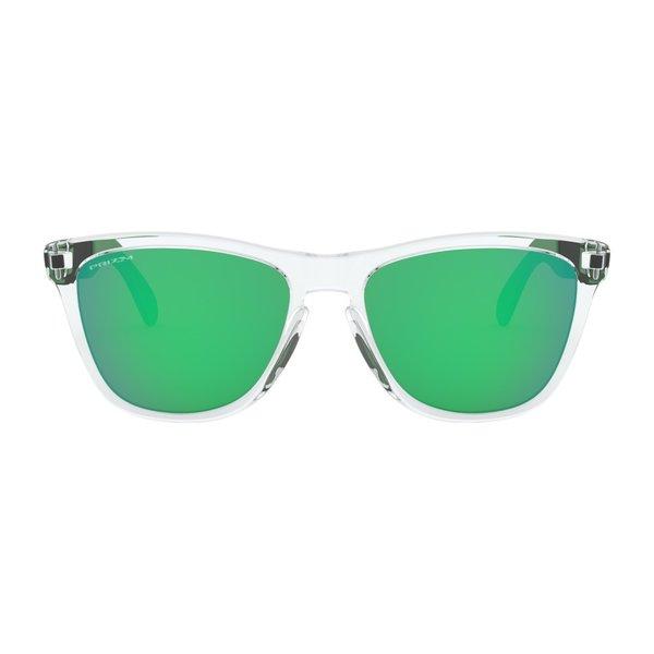 Oakley Frogskins Mix Polished Clear Prizm Jade Zonnebril