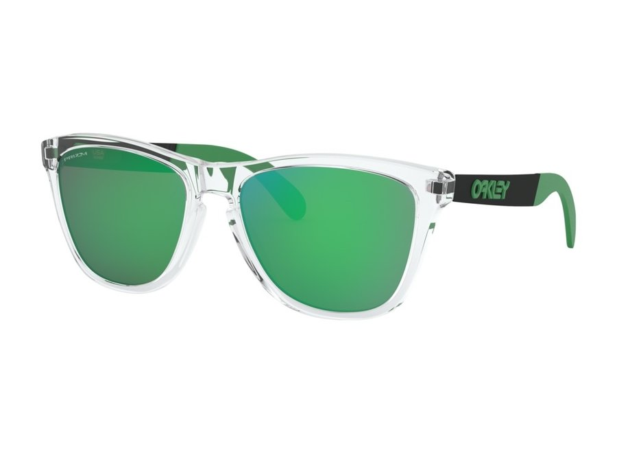 Oakley Frogskins Mix Polished Clear Prizm Jade Zonnebril