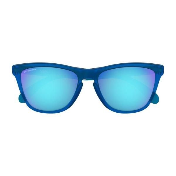 Oakley Frogskins Mix Matte Translucent Sapphire Prizm Sapphire Zonnebril