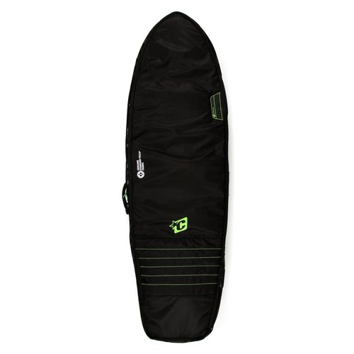 Creatures of Leisure Creatures Fish Double Boardbag Black/Lime