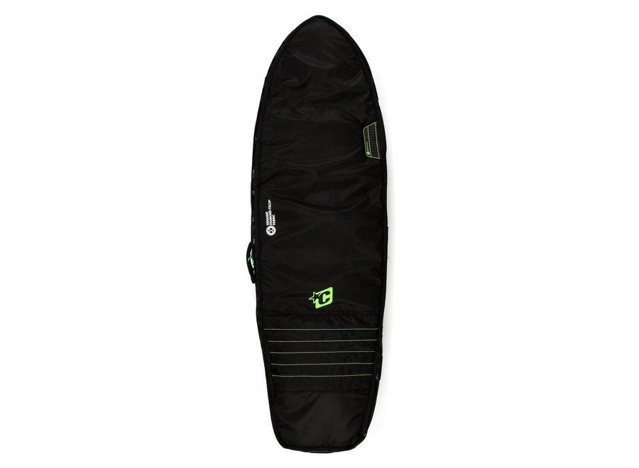 Creatures Fish Double Boardbag Black/Lime