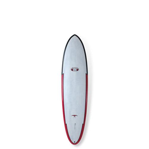 "Surftech Surftech Takayama TLPC Egg 7'2"" Red"