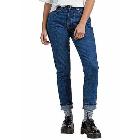 Volcom Volcom Dames Super Stoned Skinny Medium Blue Wash
