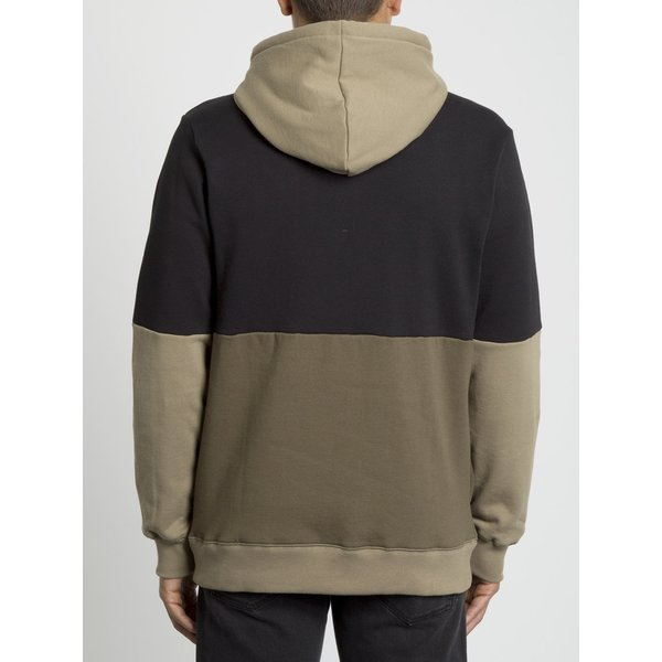 Volcom Heren Single Stone Div Hoodie Military