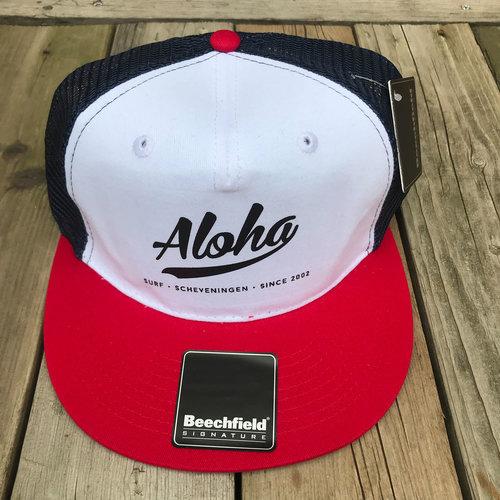 Aloha Surf Huismerk Aloha Logo Trucker Cap Red/Blue