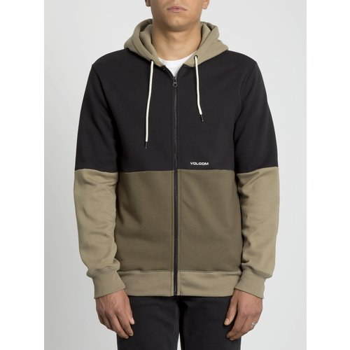 Volcom Volcom Kinder Single Stone Div Zip Hoodie Military