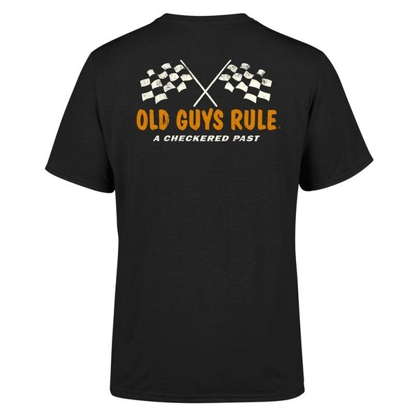 Old Guys Rule Checkered Past Tee