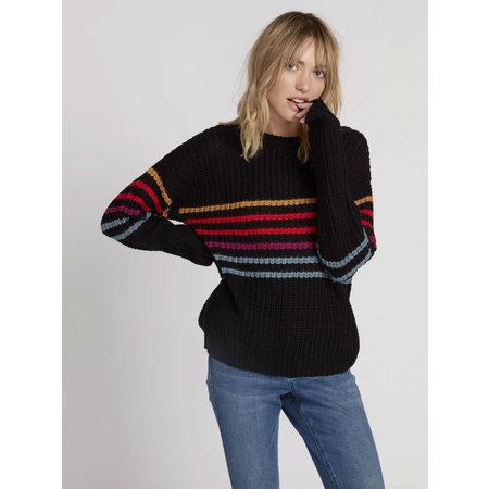 Volcom Volcom Women's Move On Up Sweater Black Combo