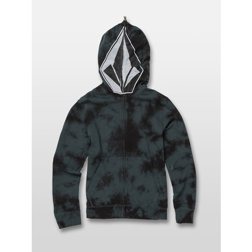 Volcom Volcom Kinder Cool Stone Full Zip Hoodie Evergreen
