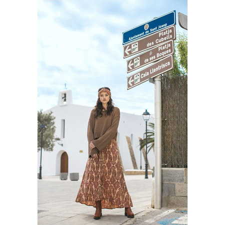 Isla Ibiza Isla Ibiza Dames Long Skirt