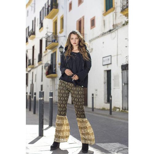 Isla Ibiza Isla Ibiza Dames Trouser Flair Mixed