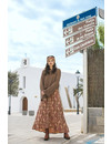 Isla Ibiza Dames Long Skirt