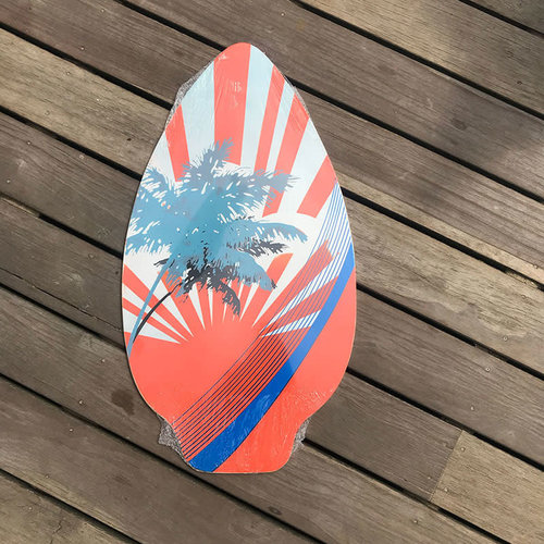Hotsports Skimboard Sunshine Red