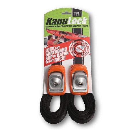Kanulock Kanulock 3.3m/11ft Lockable Tie Down Set