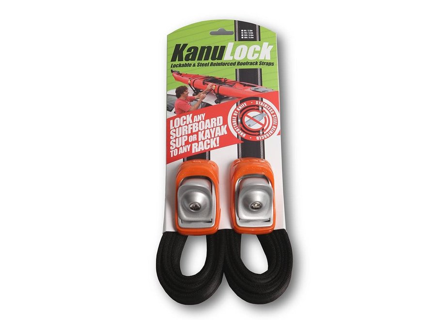 Kanulock 3.3m/11ft Lockable Tie Down Set