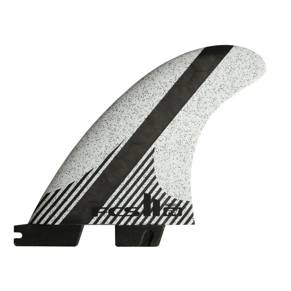 FCS II FW PC Carbon White Thruster Fins