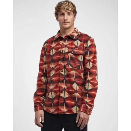 Billabong Billabong Heren Furnace Flannel Terra