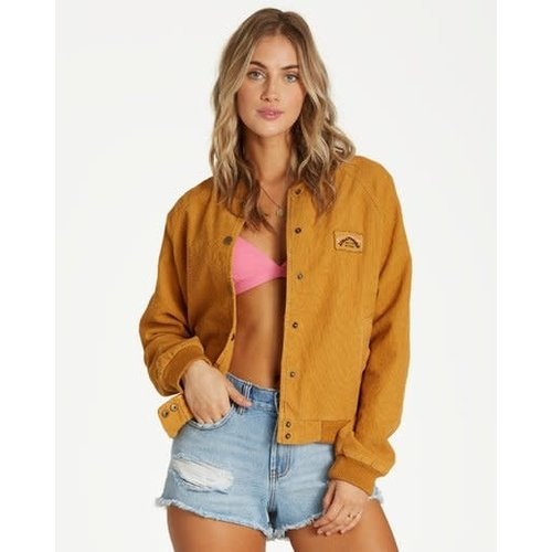 Billabong Billabong Dames This Way Jacket Honey Gold