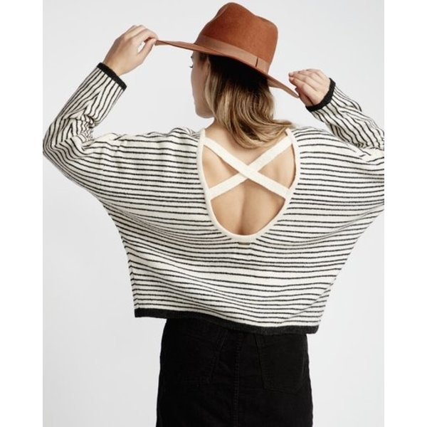 Billabong Dames To The Limits Jumper White Cap