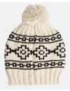 Billabong Dames Bill Snow Beanie Antique White