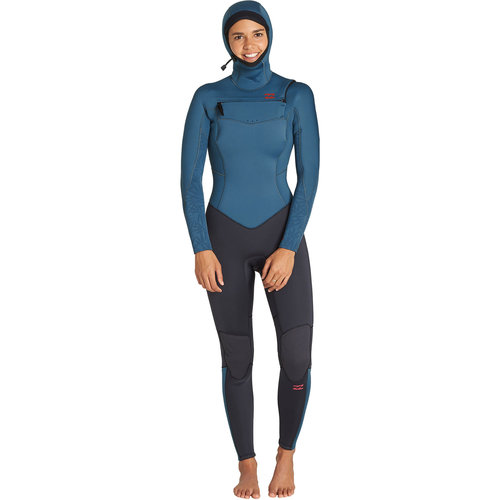 Billabong Billabong 5/4 Furnace Synergy Dames Winter Wetsuit Black Marine