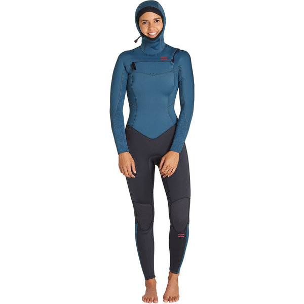 Billabong 5/4 Furnace Synergy Dames Winter Wetsuit Black Marine